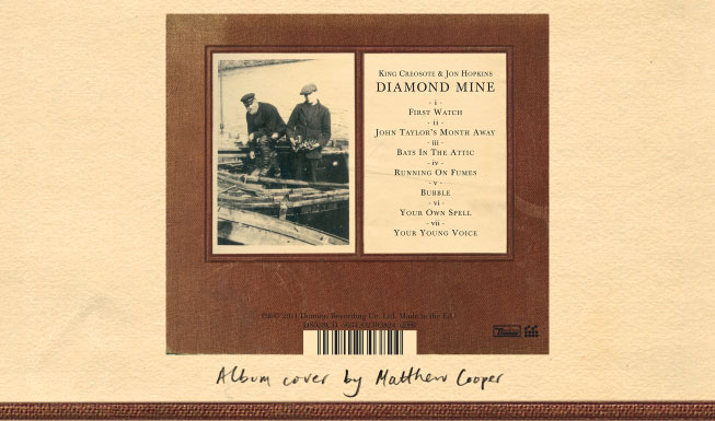 Diamond Mine album artwork by Matthew Cooper