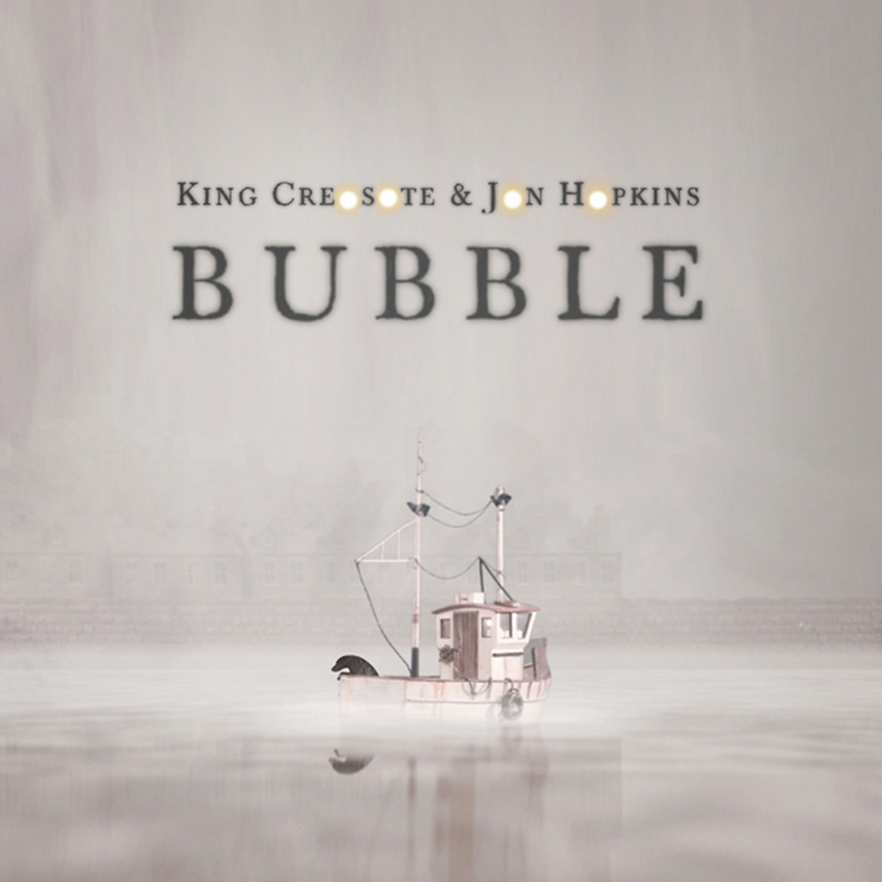 King Creosote Jon Hopkins 'Bubble' artwork by Elliot Dear