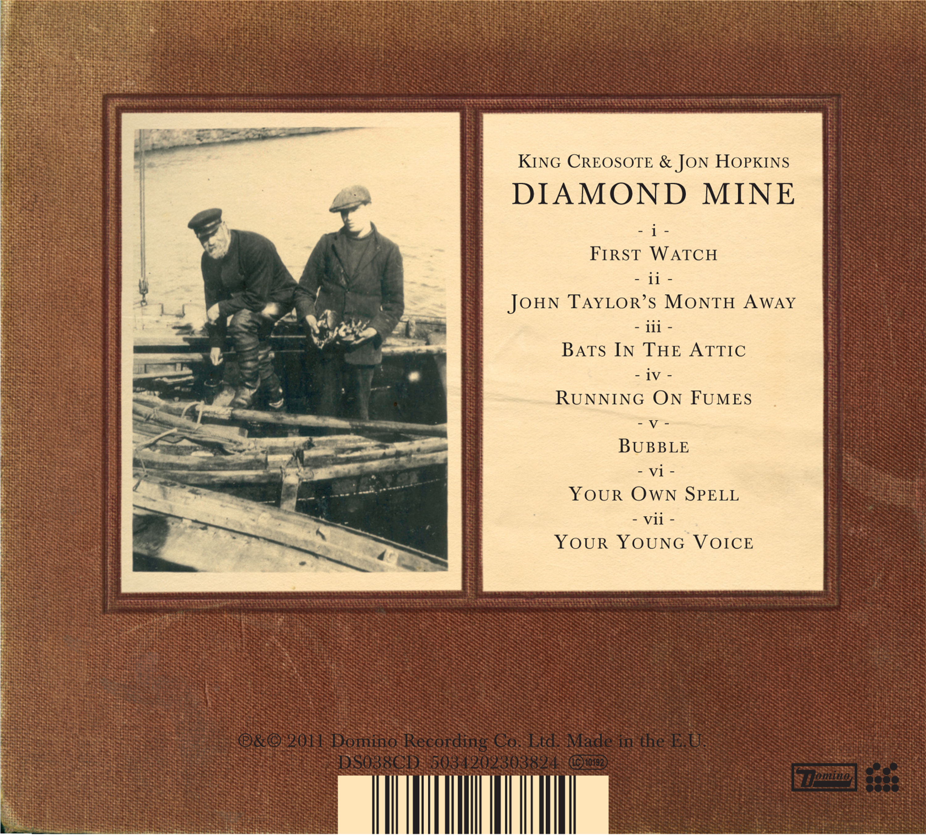 Diamond Mine Hi Res CD album artwork by Matthew Cooper